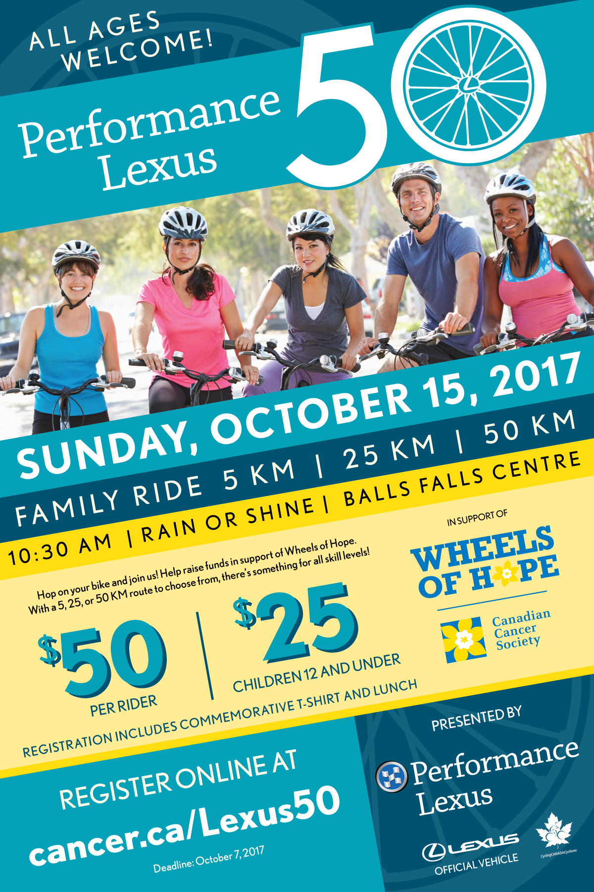 Wheels of Hope.... Sunday, October 15th