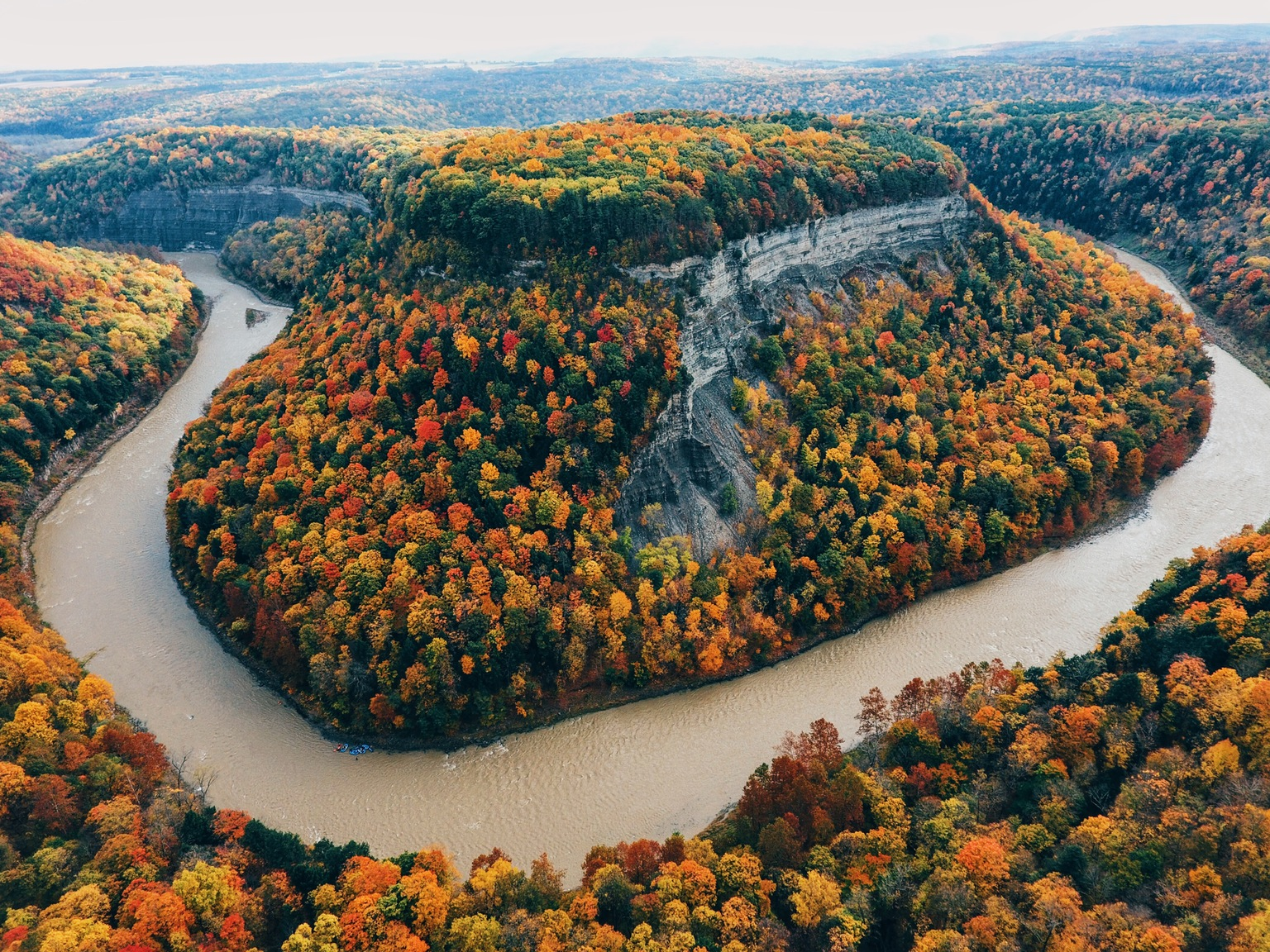letchworth state park ride dinner and a drivein