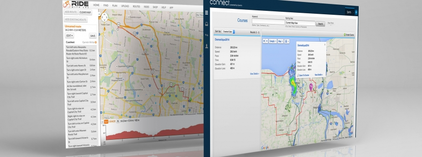 Garmin Connect and Ride With GPS Routes
